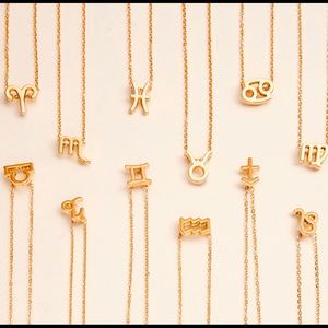 Jewelry - Zodiac Sign Necklace, Astrological Necklace